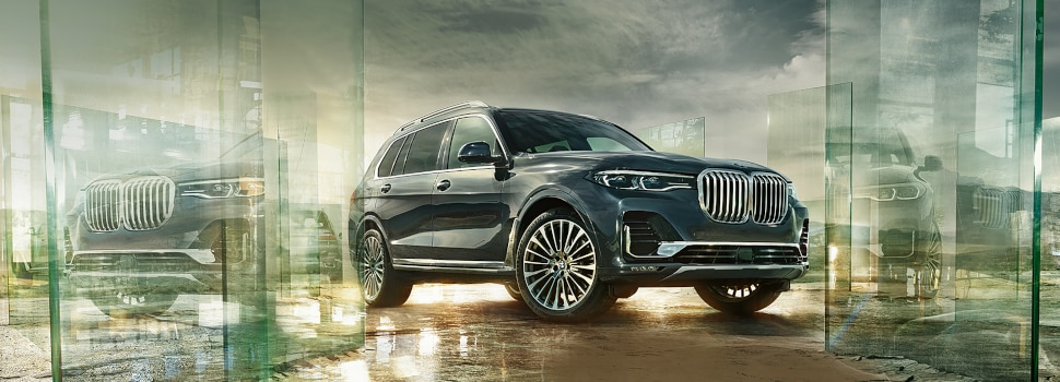 New BMW X7 SUV