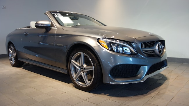 Used 2018 Mercedes-Benz C-Class C 300 4MATIC AMG Line Cabriolet in Mechanicsburg