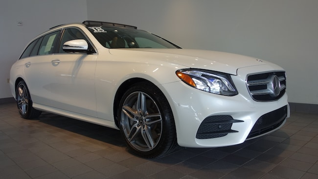 Used 2018 Mercedes-Benz E-Class E 400 4MATIC AMG Line Wagon in Mechanicsburg