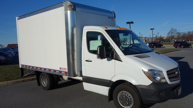 New 2017 Mercedes-Benz Sprinter Cab Chassis MXCC46 Morgan 12 Ft Dry Freight Box Truck in Mechanicsburg