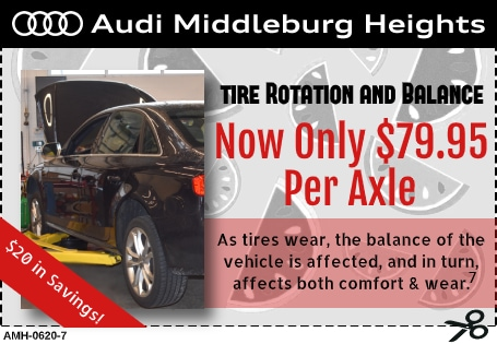 Tire Rotation and Balance Special