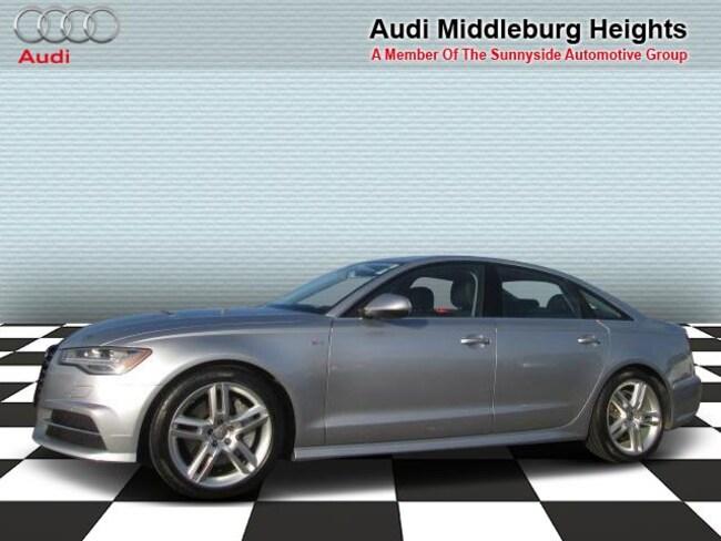 2016 Audi A6 Sdn quattro 2.0T Premium Plus Sedan