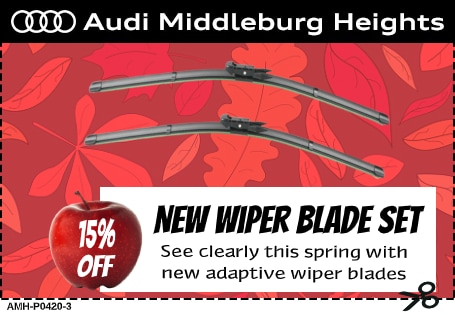 Audi Middleburg Heights - 15% Off Wiper Blade Set Special Coupon
