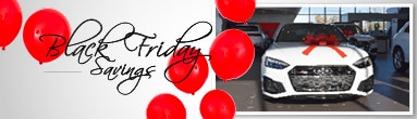 Audi Middleburg Heights Black Friday New Car Specials Mobile Header