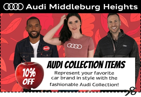 Audi Middleburg Heights - 10% Off Audi Collection Items Coupon
