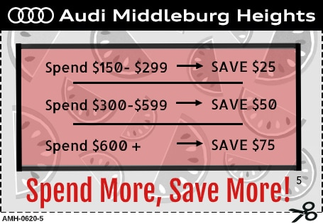 Tiered Savings Service Special