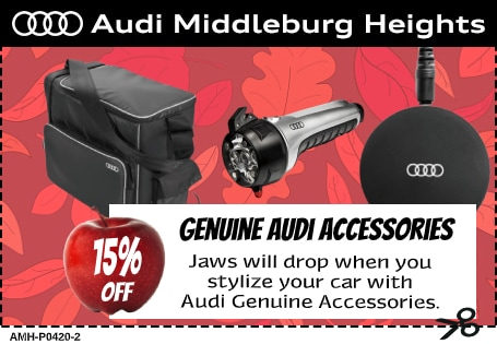 Audi Middleburg Heights - 10% Off Audi Vehicle Accessories' Special Coupon