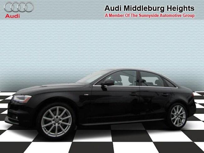 2016 Audi A4 Auto quattro 2.0T Premium Plus Sedan