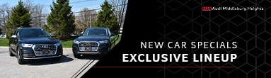 Audi Middleburg Heights New Car Specials Mobile Header
