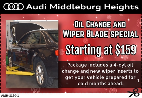 Oil Change and Wiper Blades Special Coupon
