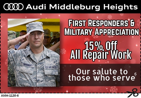 Military and First Responders Aprreciation Coupon