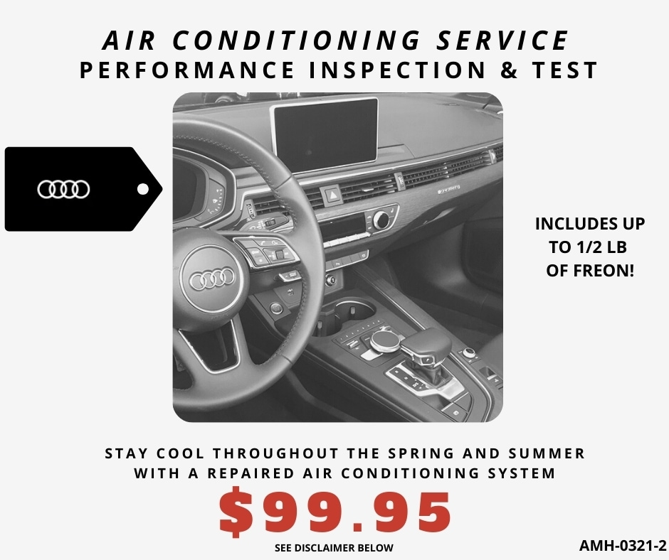 AIR CONDITIONING SERVICE - $99.95