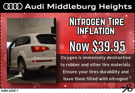 Nitrogen Tire inflation Service Special