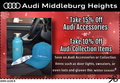 Genuine Audi Accessories and Collection Items Special