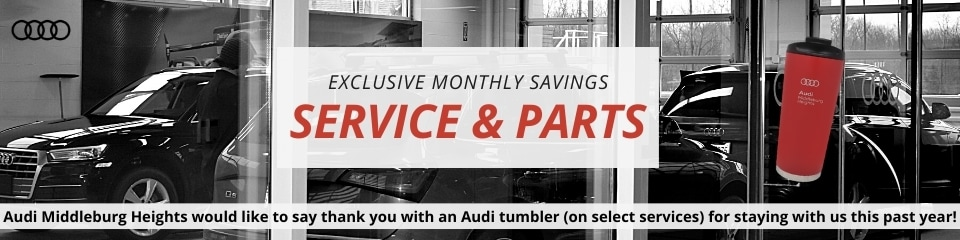 Service & Parts Exclusive Monthly Savings