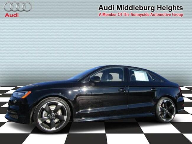 2016 Audi A3 Sdn quattro 2.0T Premium Sedan