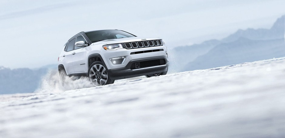 2018 Jeep Compass Driving In Snow