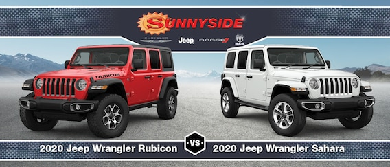 Jeep Wrangler Rubicon Vs Sahara Similarities Differences Compared