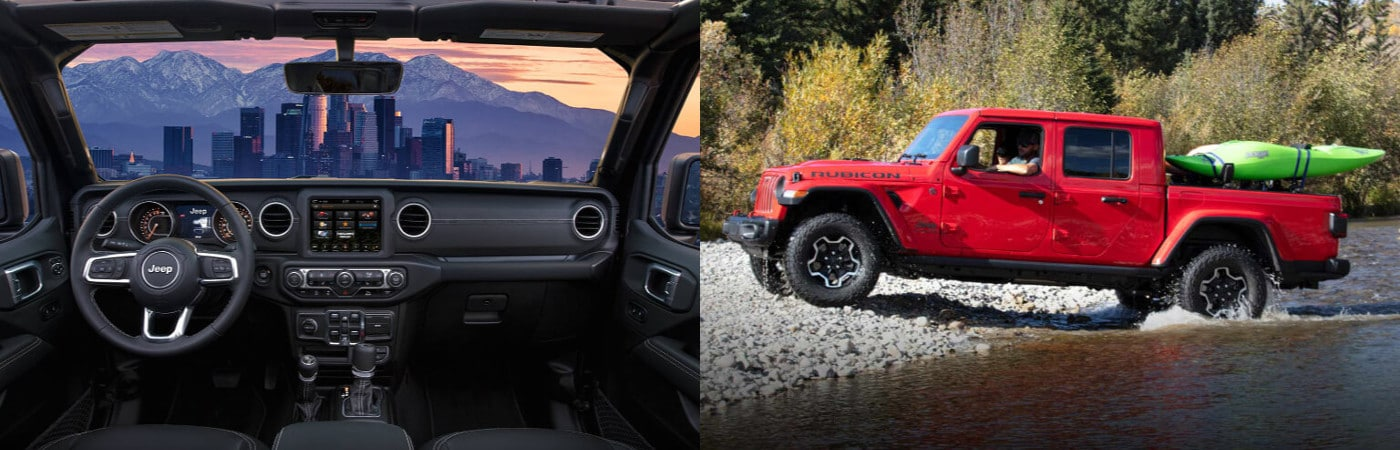 2020 Jeep Interior and Exterior