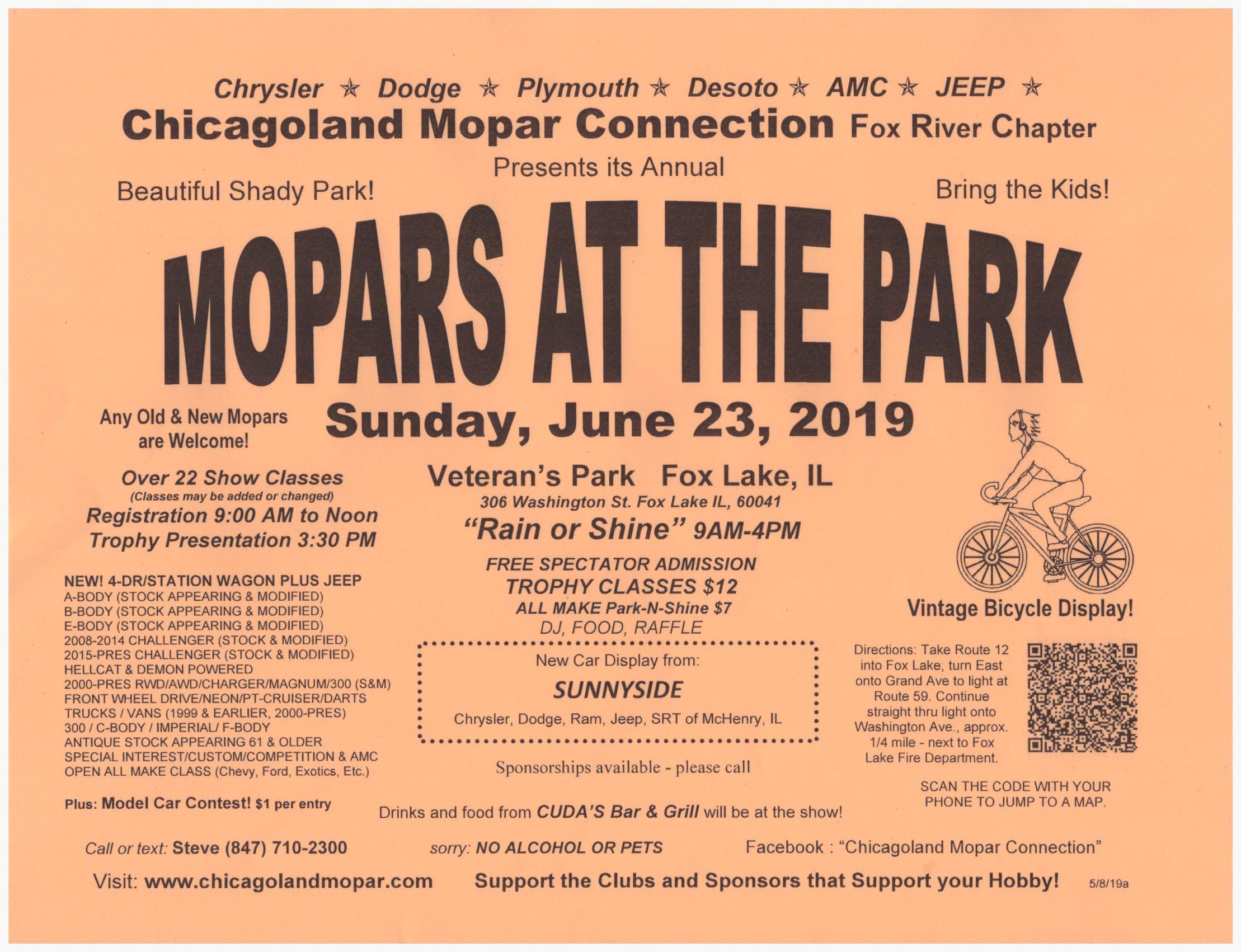 Chicagoland MOPAR Connection | Sunnyside Company - Dodge Chrysler RAM