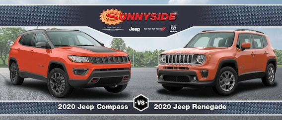 Jeep Compass Vs Renegade Engine Specs Difference Features Mchenry Il
