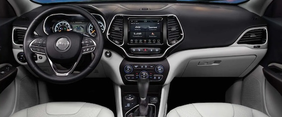Jeep Cherokee Interior >> 2019 Jeep Cherokee Redesigned Interior Features Mchenry Il