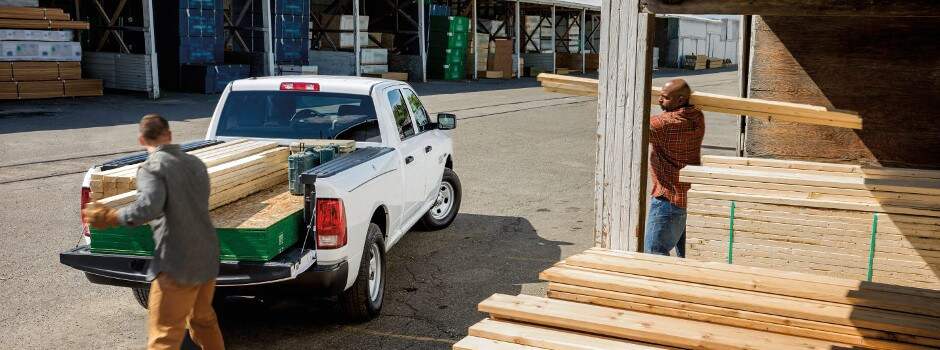 2017 Ram 1500 Cargo Features in McHenry, IL