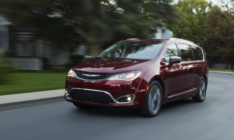 Maroon 2019 Chrysler Pacifica