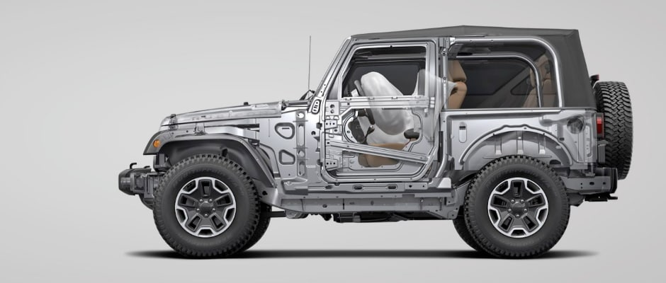 2017 Jeep Wrangler Safety Specs Review in McHenry, IL