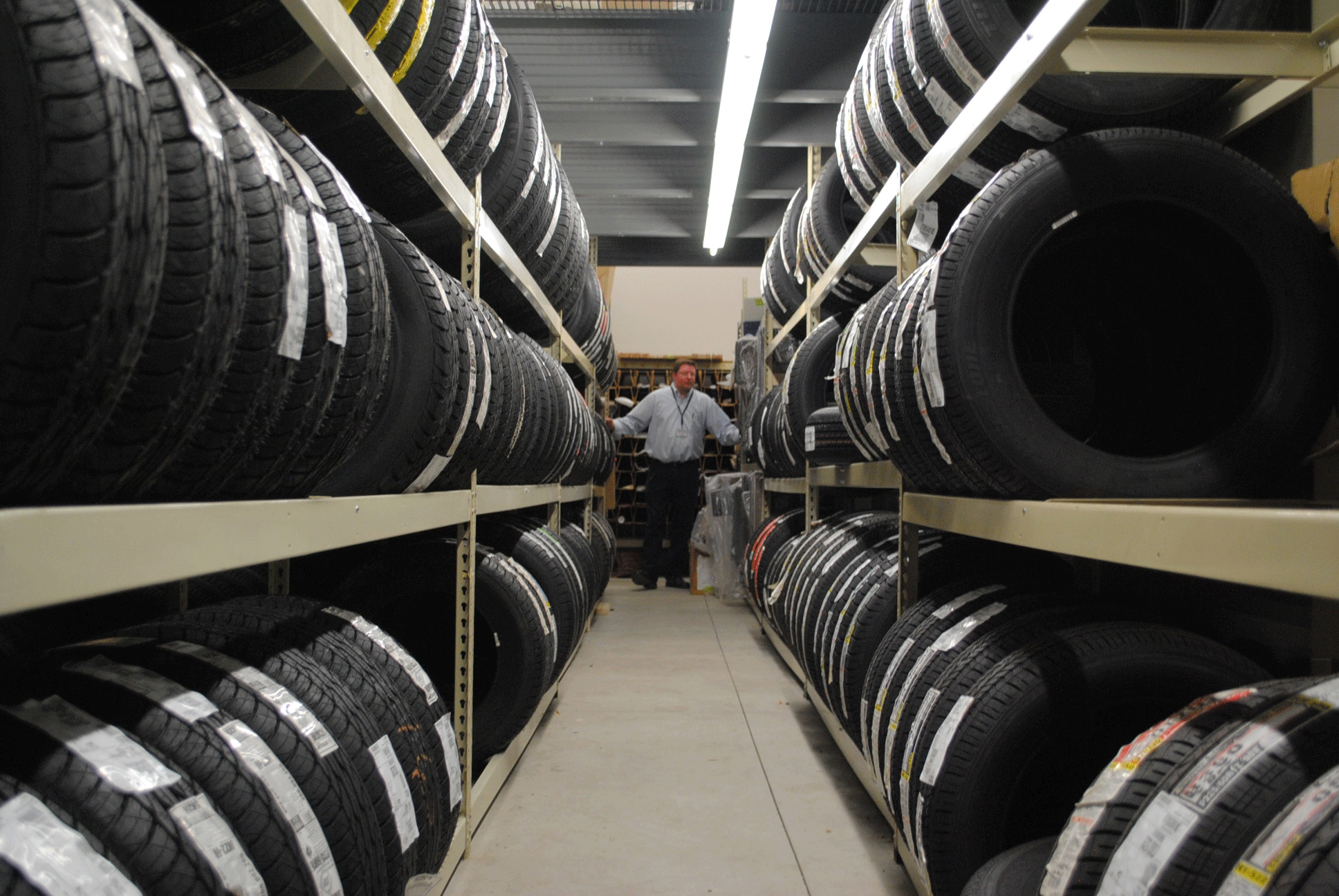 Our new larger parts warehouse gives us even more inventory of toyota parts for faster and more efficient repairs we can now stock hundreds of tires so