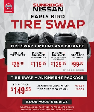 Early Bird Tire Swap