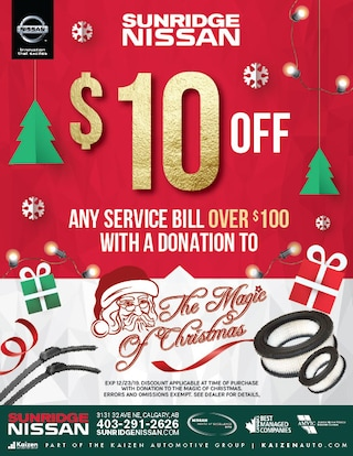 $10 off any service bill over $100