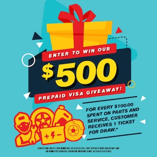 Enter to win our $500 Prepaid Visa Giveaway!