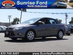 2012 Ford Focus 4DR SDN SE sedan