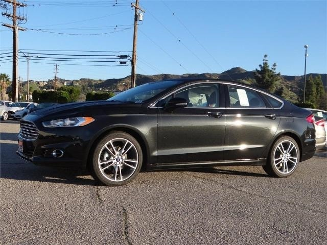 2015 Ford Fusion 4dr Sdn Titanium FWD sedan