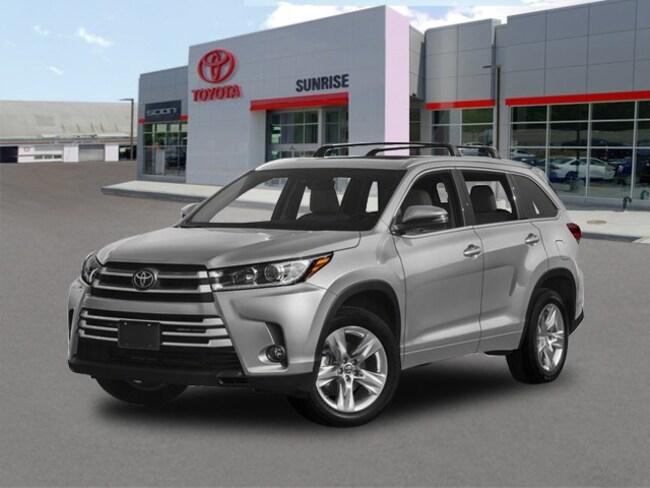 New 2018 Toyota Highlander Limited V6 SUV For Sale Long Island New York