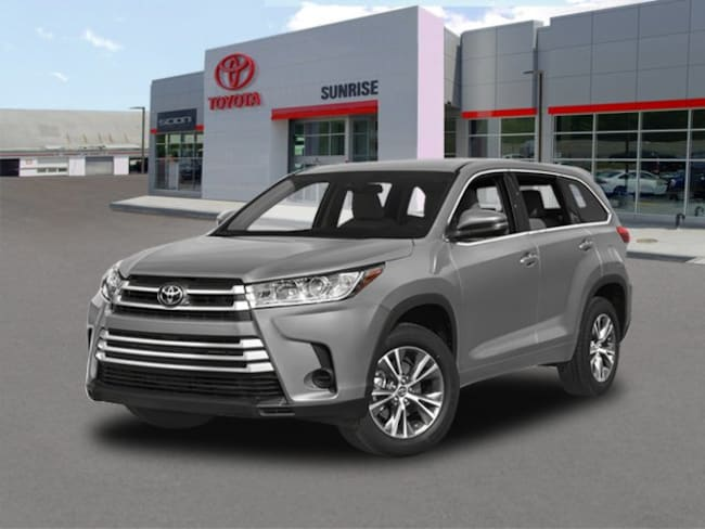 New 2018 Toyota Highlander LE V6 SUV For Sale Long Island New York