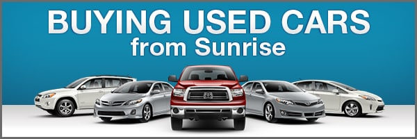 Used Cars Long Island >> Your Long Island Used Cars Dealership Why Buy At Sunrise Toyota