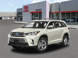 New 2018 Toyota Highlander Hybrid Limited Platinum V6 SUV For Sale Long Island