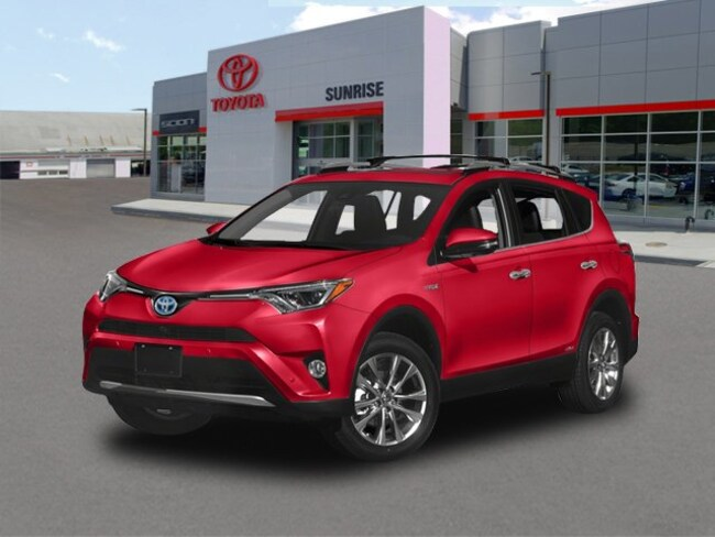 New 2018 Toyota RAV4 Hybrid Limited SUV For Sale Long Island New York