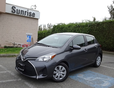 2015 Toyota Yaris Hatchback 5DR LE 4A Convenience Package! Hatchback