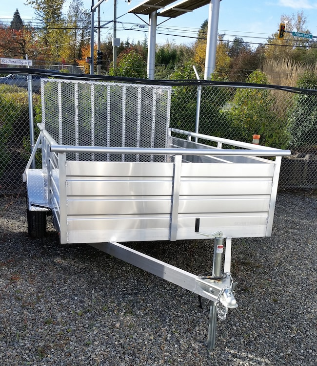 2018 Eagle Trailer 5x10 SA Ultra Lite Aluminum