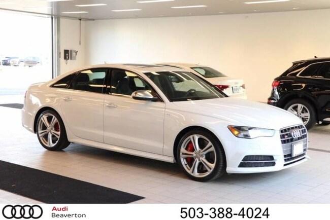 New 2018 Audi S6 Prestige Sedan for sale in Beaverton, OR