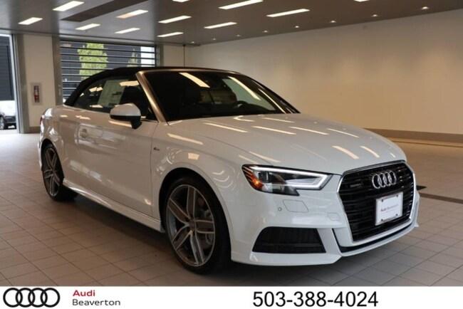 New 2019 Audi A3 Premium Plus Cabriolet for sale in Beaverton, OR