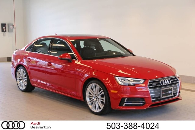 Pre-Owned 2017 Audi A4 2.0T Premium Sedan for sale in Beaverton, OR