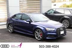 2018 Audi S3 Premium Plus Sedan