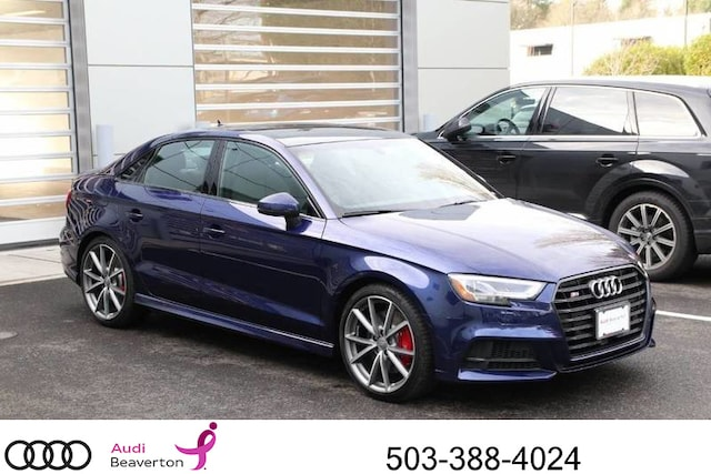 New Audi S Sedan For Sale In Beaverton OR Near Portland OR - 2018 audi s3