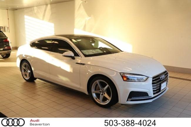 New 2018 Audi A5 Premium Sportback for sale in Beaverton, OR