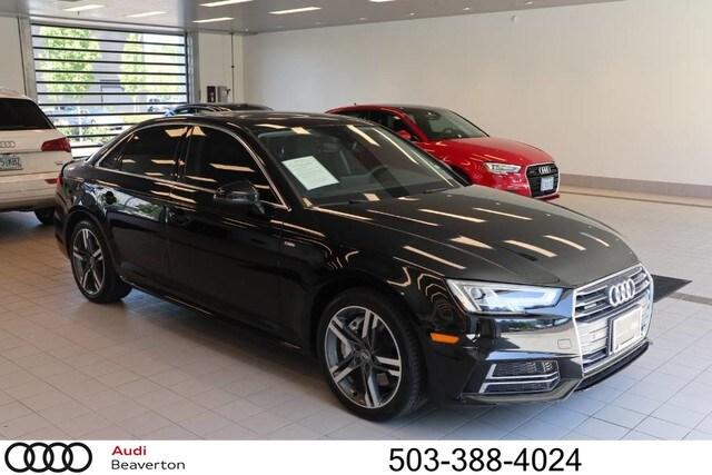Pre-Owned 2017 Audi A4 2.0T Premium Plus Sedan for sale in Beaverton, OR