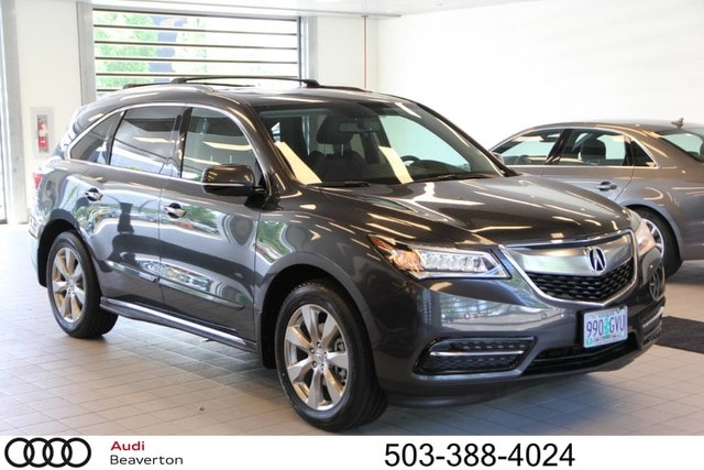 Pre-Owned 2014 Acura MDX MDX SH-AWD with Advance and Entertainment Packages SUV for sale in Beaverton, OR